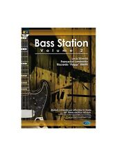 Bass Station Vol2 Learn to Play Present Gift MUSIC BOOK & CD Bass Guitar