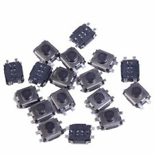 100pcs Tact Push Button Switch 4Pin Tactile Momentary SMD For Car Key 3x4x2MM