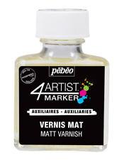 Pebeo 4Artist MATT Varnish for Marker, Oil Paint & Mixed Media 75ml