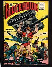 Blackhawk #88 ~ vs Thunder, the Indestructible - 1955 (7.0) WH