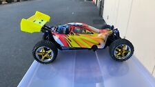 Exceed RC Froza 1/10 Nitro Gas .18 Engine Remote RC RTR Buggy Fire Red - USED