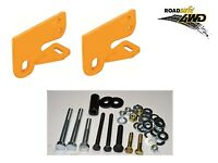NEW ROADSAFE HEAVY DUTY TOW POINTS . PAIR . VW AMAROK 2009 Onwards .. RP-AMA01