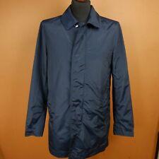 WOOLRICH MEN'S PARKA ALL SEASON LIGHT size S/M BLUE MENS JACKET RAMAR CLOTH JKT