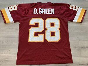 Vtg Adidas Darrell Green #28 Washington Redskins Jersey Mens Adult Medium M NFL