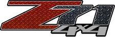 Z71 4 x 4 Diamond Plate Vinyl Sticker Decal Cars Trucks Vans Walls Laptop