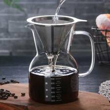 Borosilicate Thermal Glass Coffee Pots Pour Over Hand Drip Coffee Maker 800ml