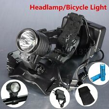 6000Lm T6 LED Bike Bicycle Headlight Headlamp+18650 Battery+Charger+Holder