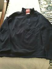 North Face Men's Flux 2 Power Stretch 1/4 Zip Jacket Size XXL Navy MSRP $128.95
