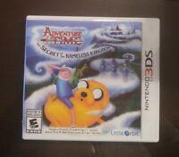 Adventure Time The Secret of the Nameless Kingdom Nintendo 3DS Rare Video Game