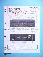 Service Manual-Anleitung für Kenwood KX-W595 ,ORIGINAL