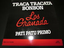 """LOS GRANADA   MAXI 45T 12""""   TRACA TRACATA BONBON   PROMO   1988"""