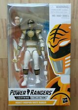 Mighty Morphin White Power Rangers Lightning Collection SEALED as pictured