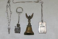 Disney Tinkerbell Tinker Bell  Key Chain Bell Necklace Bracelet