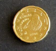 20 Cent Euro-Münze Spanien Prägejahr 2006 aus Umlauf Sammlerstück