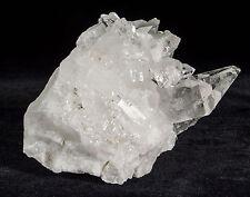 Natural Quartz Crystal Cluster Specimen Mineral Gem - Brazil