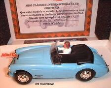 qq PINK KAR NO REF AUSTIN HEALEY MK III MiniClàssics PALE BLUE M.C.I.C.