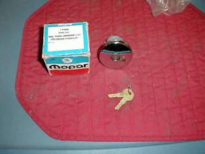 NOS MOPAR 1972-6 B E & C BOD ACCESSORY LOCKING GAS CAP