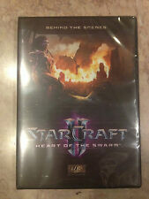 Starcraft II 2 Heart of the Swarm Behind Scenes DVD BluRay Collector's Edition