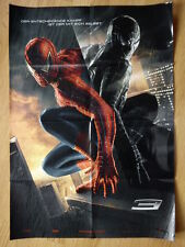 SPIDER - MAN 3 vintage  advance German 1-sheet 2007 TOBEY MAGUIRE Marvel Comic