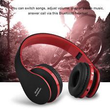 Casco Plegable Bluetooth 4.0 Auriculares Inalámbricos Estéreo Recargable USB MIC