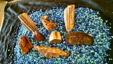 Petrified Wood Aquarium Decor Natural Rock Agate Quartz (aqr4)