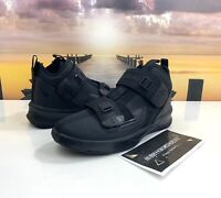 Nike Lebron Soldier 13 XIII Triple Black Strap Shoes AR7585-004 Youth Size 7Y
