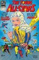Young All-Stars #27 in Near Mint condition. DC comics [*5c]