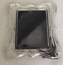 "Vintage Mikasa Leaded Glass 5""x7"" Picture Frame , EUC"