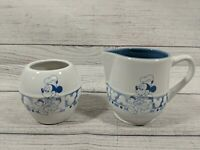 Disney Mickey Mouse Sugar And Creamer Ceramic Set FREE SHIPPING And RETURNS