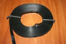 1 BOBINE DE 60 Mètres de RUBAN PLASTIQUES LARGEUR 15 mm COULEUR NOIR