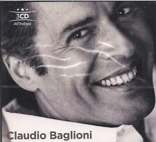 3 CD ♫ Audio Box Set CLAUDIO BAGLIONI ~ I SUCCESSI ~ THE BEST ~ IL MEGLIO nuovo