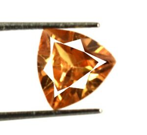 Brown Axinite Pakistan Trillion Gemstone 3.80 Ct 100% Natural Certified V8219