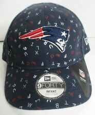 Patriots Infant Hat Cap NFL New Era Blue Alphabet New England Unisex