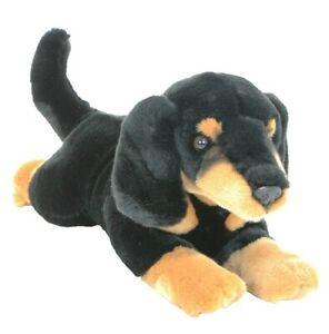 NEW Dachshund Sausage Dog Puppy Frankie Plush Stuffed Toy 30cm by Bocchetta  NEW