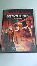 """DVD """"OCEAN'S ELEVEN"""" STEVEN SODERBERGH GEORGE CLOONEY BRAD PITT MATT DAMON"""