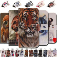 Hot Animal Leather Flip Wallet Phone Case Cover For iPhone 11 Pro Max X 5/6/7/8+