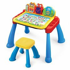 Toddler Learning Desk Music Sounds Colors Shapes Activity Kids Play Baby Toy New