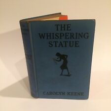 The Whispering Statue 1946 1 Year Limited Ed. Blue Carolyn Keen #14 Nancy Drew