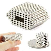 200pcs Neodymium Disc Mini 2 X 2mm Rare Earth N50 Strong Magnets Craft Models