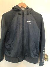 Boys Nike Blue Hooded Cardigan Size XL/ 13-15