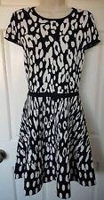 BNWT Karen Millen Soft Leopard Knit Dress Size M 12/14  Current Season RRP £140