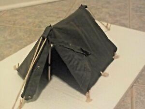 Original GI Joe 1964 Action Soldier Pup Tent Bivouac Set VGC