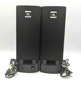 JBL Platinum Series SP08A11 HP Computer Speakers NO Power Adapter
