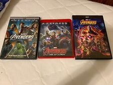 The Avengers dvd trilogy, 1 is Blu-Ray