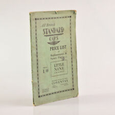 All British STANDARD CARS Price List LITTLE NINE Chassis 1931 Poor