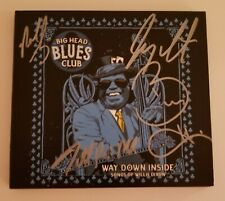 Big Head Todd And The Monsters 'Big Head Blues Club Willie Dixon' Hand Signed CD