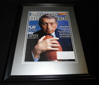 Johnny Unitas Framed ORIGINAL 2001 Sports Illustrated Cover Colts Louisville
