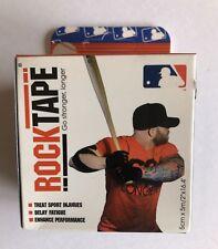 New listing MLB RockTape Kinesiology Tape for Athletes, Water Resistant, MLB Blue