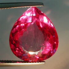 20.50ctGorgeous Czochralski ColourChange Alexandrite Big PearShape Lab Cut Gem