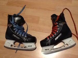 BAUER Kinder Eishockey Schlittschuhe Supreme One 95 Gr. 36 + Tasche